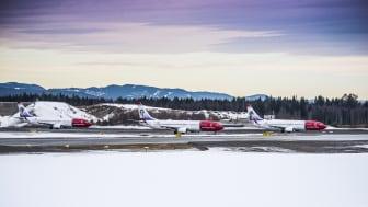 Norwegian med god passagerartillväxt och hög kabinfaktor
