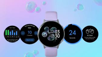 Samsung lanserar handtvätts-app till sina smartklockor