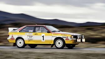 40 år med Audis femcylindriga motorer
