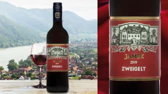 Det österrikiska Wachau-området bjuder på mer än grüner veltliner. Här produceras även exklusivt rödvin av druvan Zweigelt. Nu lanseras Jamek Zweigelt 2019 i Systembolagets beställningssortiment.