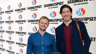 Kristian Claesson och Martin Magnusson, grundare till Guldfemman.