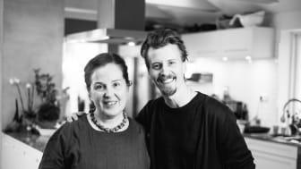 Paul Svensson och Andrea Mikkelsen