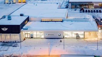 BMW- og MINI-forhandleren Brages Ålesund, Digerneset, endrer navn til Bavaria Ålesund.