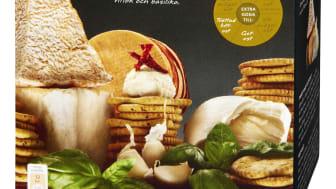 Smaksatta kex - en het nyhet på ostbrickan