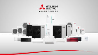 Mitsubishi Electric Värmepumpar