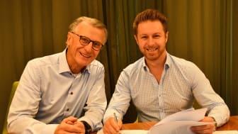 Bengt Bergqvist (Bengt Bergqvist Energianalys AB) och Eddy Chabo (Bengt Dahlgren AB)