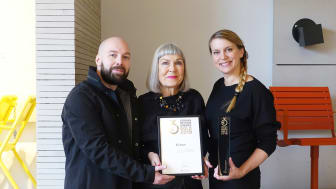 Johan Kauppi, Agneta Stake och Nina Kauppi, GDA 2018