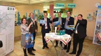 Neuer Service für Touristen in der Region Leipzig: Seit April 2014 gibt es die LEIPZIG REGIO CARD