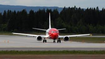 Sterk passasjervekst for Norwegian i august
