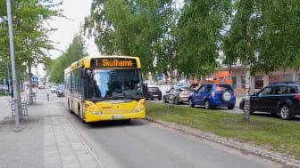 Från 14 juni gäller sommartidtabell för Piteås bussar. Foto: Jonathan Kidane