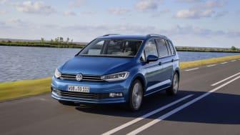 Euro NCAP giver Volkswagens nye Touran 5 stjerner