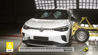 VW ID.4 Euro NCAP passive and active safety testing video - April 2021