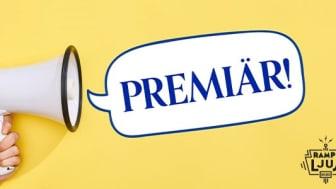 9 april är det premiär för första avsnittet av den webbsända programserien Rampljus.