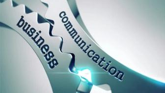 Affärer och kommunikation som ett kugghjul