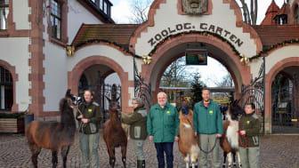Der Zoo startet ins Jubiläumsjahr 2018