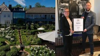Kiviks Hotell Konferens och Spas ägare och vd Lisbeth Linde och Jannis Norén Karas, medlemschef på Svenska Möten.