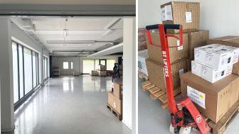 Extra 407 m² lager ska fyllas