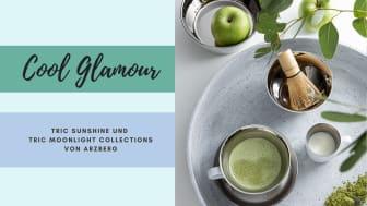 Das neue Tric Moonlight von Arzberg verströmt schicke Coolness und bringt Glamour auf den Tisch.