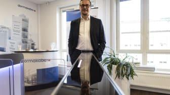 Dan Wikström, återvändande Sverigechef på Dormakaba.