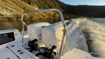 Cox Powertrain's CXO300 diesel outboard engine has received approval to operate on Lake Constance, where strict environmental regulations are in place