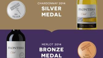 Silvermedalj till Frontera Chardonnay i Sommelier Wine Awards