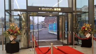 När stationen är destinationen – nu öppnar vi entrén till nya Helsingborg C