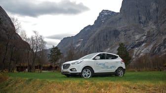 Hyundai ix35 FCEV hydrogenelektrisk bil