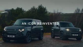 Den nye og potente Defender V8 og eksklusive Special Editions blir en del av modellutvalget