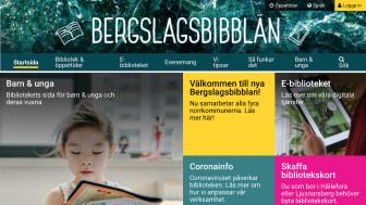 Bergslagsbibblan växer - och får ny webbplats