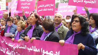 Kvinnornas roll i Mellanösterns protester