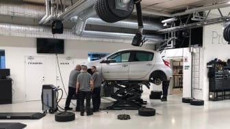 ProMeister och Arbetsförmedlingen har startat en yrkesförberedande fordonsutbildning för vuxna i Malmö.