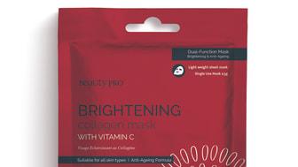 BeautyPro Collagen Mask BRIGHTENING
