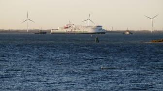 """Die """"Copenhagen"""" verlässt am 28. November 2016 die Fayard-Werft"""