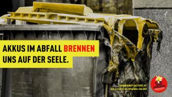 """BDE-Pressetermin: """"Falsch entsorgt ist brandgefährlich"""" – Kampagnenstart und Anlageneröffnung in Rostock"""