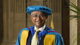 Dr Arnab Basu MBE receives Honorary Doctorate of Science from Northumbria University