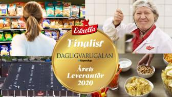 Estrella nominerad till Årets Leverantör i Fri Köpenskaps Dagligvarugala