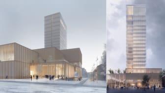 Världens högsta träbyggnad får vibrationsisolering från Christian Berner