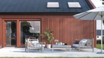 1-planshuset Gryning är först ut i turordningen av de hus som Myresjöhus lanserar vecka 23.