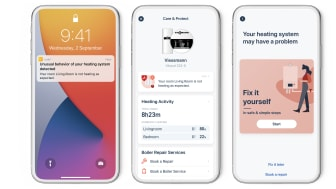 tado° lancerer ny Care & Protect funktion - app'en fortæller hvis fyret går ned eller radiatoren skal luftes ud