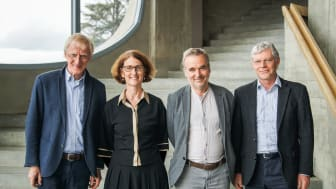 Leadership Pedagogical Section at the Goetheanum: Claus-Peter Röh (until mid-2021), Constanza Kaliks (from 2022), Philipp Reubke (since October 2020), Florian Osswald (until the beginning of 2022) (Foto: Xue Li)