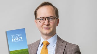 Företagarnas skattepolitiska expert Patrick Krassén är en av författarna till boken Platt skatt som släpptes i tisdags.