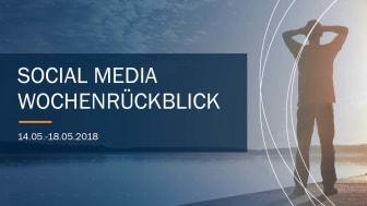 Die Woche in Social Media KW 20 I 2018