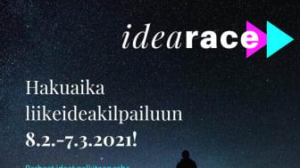LIIKEIDEAKILPAILU IDEARACE KÄYNNISTYY ETELÄ-KARJALAN YRITYKSILLE 8.2.!