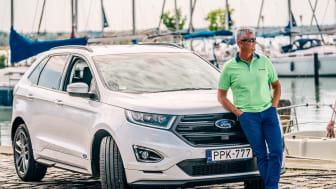 A Litkey Farkas a Ford Edge márkanagykövete csapatával megnyerte a 2019-es Soling VB-t