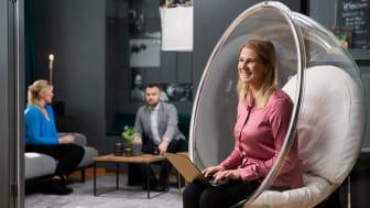 På bilden: Hanna Kotilainen, Account Manager på Xenit