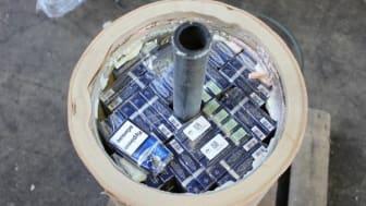 More smuggled cigarettes (SE 19.17)