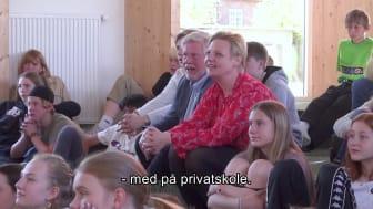 Annette Lind (S) på Børneskolen Bifrost