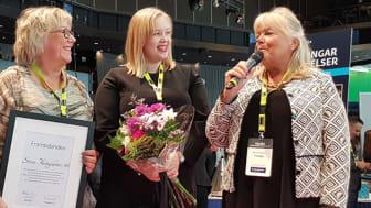 Sari Isberg - relationsförvaltare Göteborg och Sarah Pettersson - relationsförvaltare Stockholm. Båda från Stena Fastigheter.