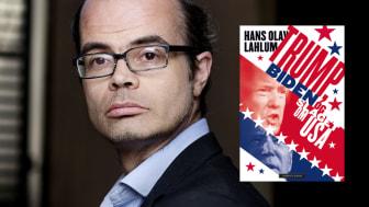 Hvert presidentvalg blir kalt «det viktigste noensinne», men i år er det sannere enn noen gang, mener Hans Olav Lahlum. Nå er han aktuell med dobbelbiografien «Trump, Biden og slaget om USA». (Foto: Agnete Brun)