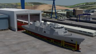 Imenco to deliver CCTV systems to Babcock designed Royal Navy Frigates - yard